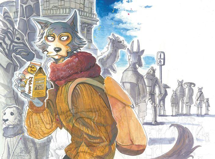 Beastars de Paru Itagaki Illustration 4