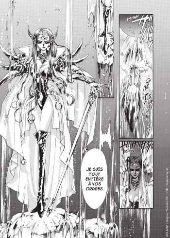 Magic Knight Rayearth T01 de Clamp - Extrait-1
