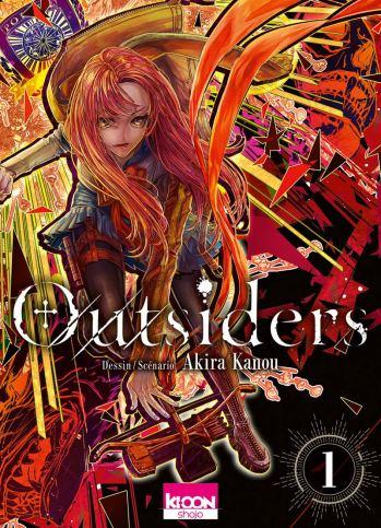 Outsiders T01 d'Akira Kanou