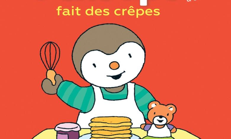 Photo of T'choupi fait des crêpes de Thierry Courtin