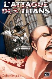 L'attaque des Titans T02 de Hajime Isayama