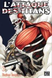 L'attaque des Titans T03 de Hajime Isayama