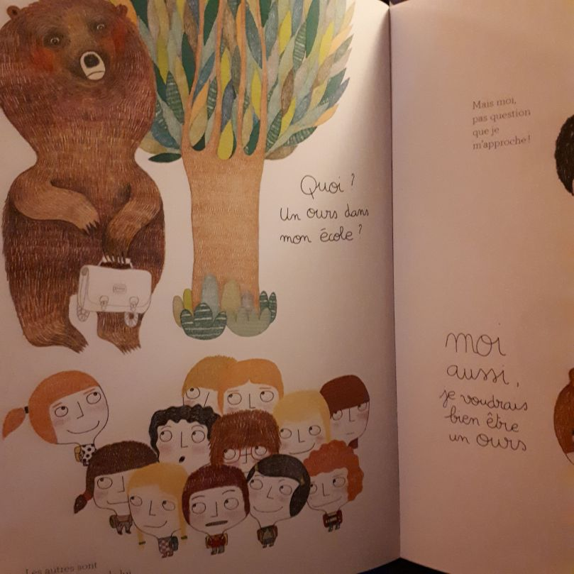 Un ours dans ma classe Image Perso Charlie 6