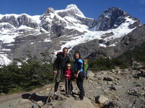 PN TORRES DEL PAINE / Valle del Frances et le mirador Britannico