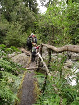 COCHAMO / Vallée de Cochamo - descente vers le village
