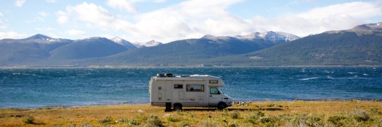 ARGENTINE / Bivouac en face de Puerto Williams (canal de Beagle)