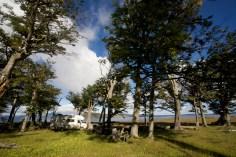 CHILI / Bivouac au Lago Blanco (Terre de Feu)