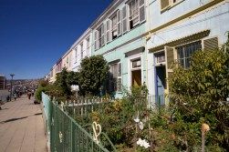 VALPARAISO / Rues - Une rue à l'anglaise
