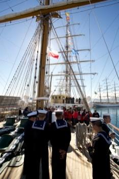 VALPARAISO / Rassemblement des plus beaux voiliers d'Amérique du Sud