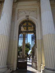 VALPARAISO / Rues - Entrée du cementerio n°1