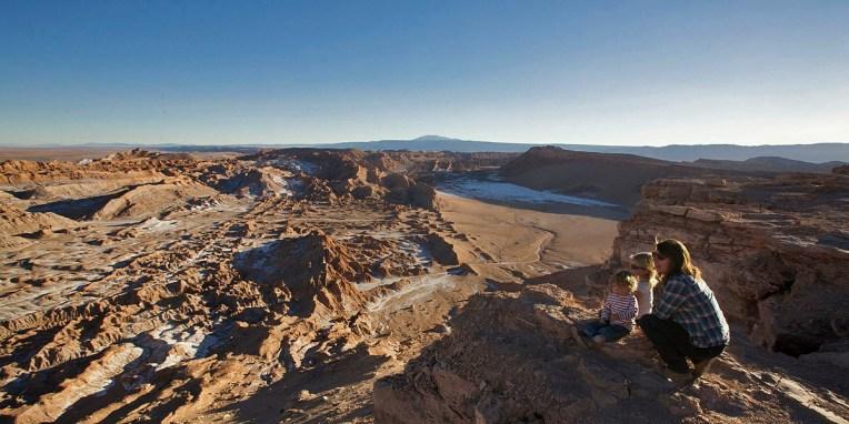SAN PEDRO DE ATACAMA / Bivouac sur les hauteurs de Valle de la Luna