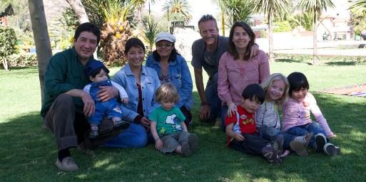 COCHABAMBA / Belle rencontre avec la famille Del Carpio Copa (Esterania, Martha, Rogerd, Leonardo, André et Paola)