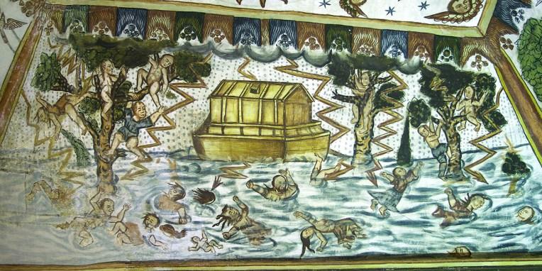 CURAHUARA DE CARANGAS / Chapelle Sixtine - Et une autre pour Noé