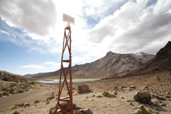 PN SAJAMA / Balade vers le lac : la frontière