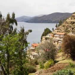 ISLA DEL SOL / Bas du village Jumani