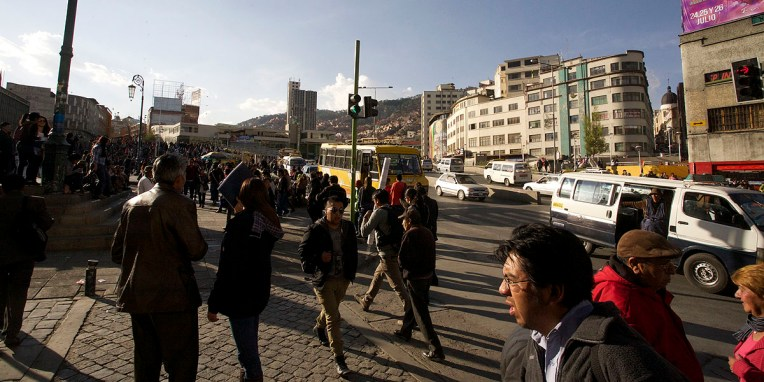 LA PAZ / Sur 100 personnes en Bolivie : 30 sont Quechuas, 30 sont métis, 25 sont Aymaras (c'est le cas du président Evo Morales), et 15 sont blancs