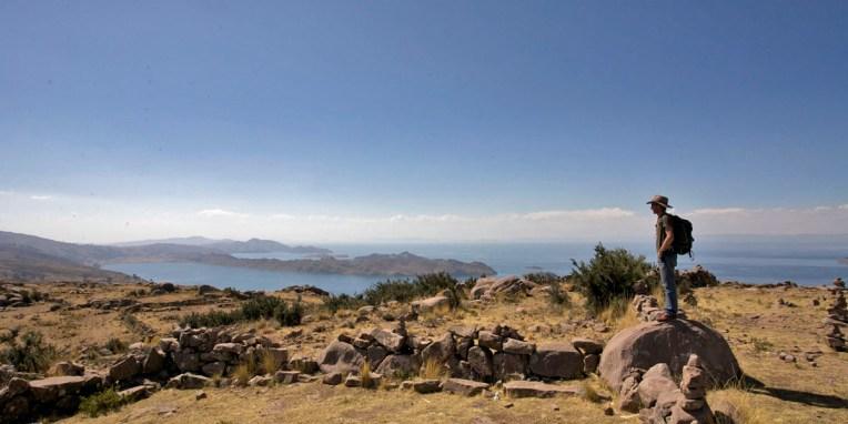 LAC TITICACA / Balade sur la presqu'ile de Llachon (Santa-Maria)