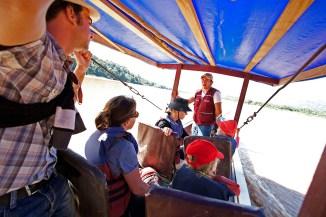 RIO BENI / Premier contact avec notre guide David