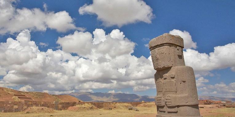 TIWANAKU / Le monolithe Ponce