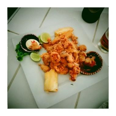 LIMA / Déjeuner de poisson à la cevecheria du Mercado Uno