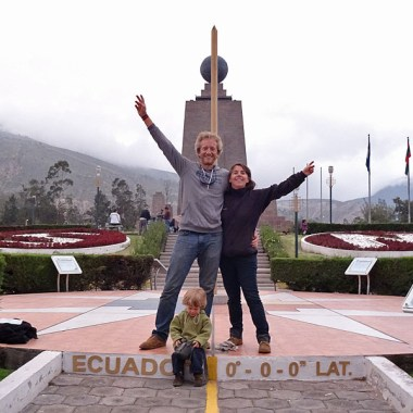MITAD DEL MUNDO / La ligne de l'Equateur