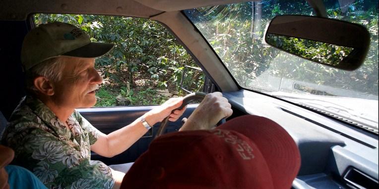 FINCA SANTA ELENA / Visite de la finca : en route vers les caféiers