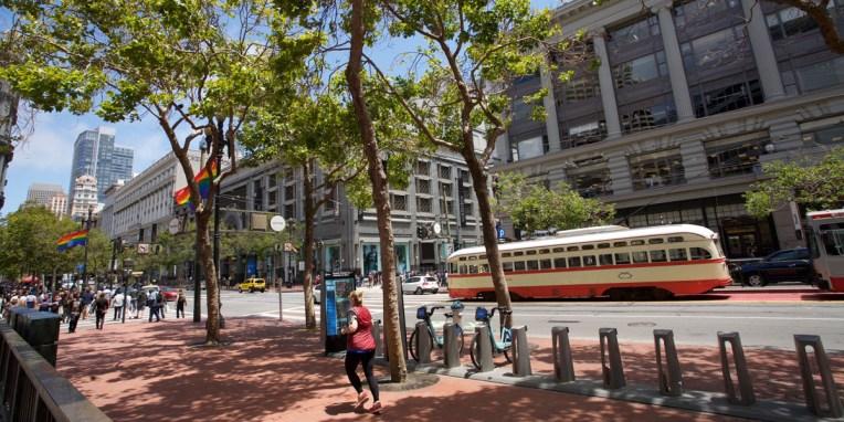 SAN FRANCISCO / Market street
