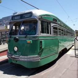 """SAN FRANCISCO / Musée """"vivant"""" des tramways du monde entier"""