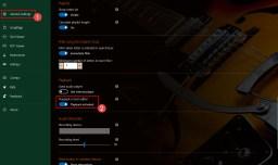 SongRepertoire - playback in ChordPro editor - settings