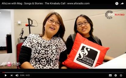 15 June 2016: #TheKinabaluCall featured on AFO Radio