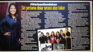10 January 2017: #WarisanSandakan featured on Sinar Harian