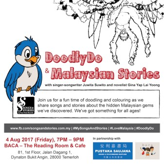 4 August 2017: DoodlyDo & Malaysian Stories event at Temerloh, Pahang