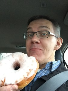 I'm enjoying the last donuts of my forties.