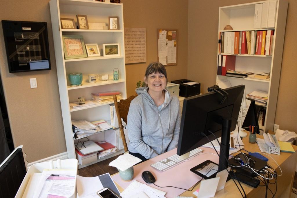 Josephine Mary Schmidt in her office