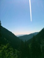 Melakwa Lake, August 12, 2012, 9 miles, 2300 ft