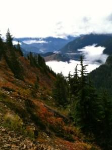 Kendall Katwalk, September 29, 2012, 11 miles, 2700 feet