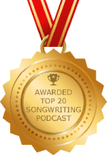 FeedSpots Top 20 Songwriting Podcast Winner 2019 Badge