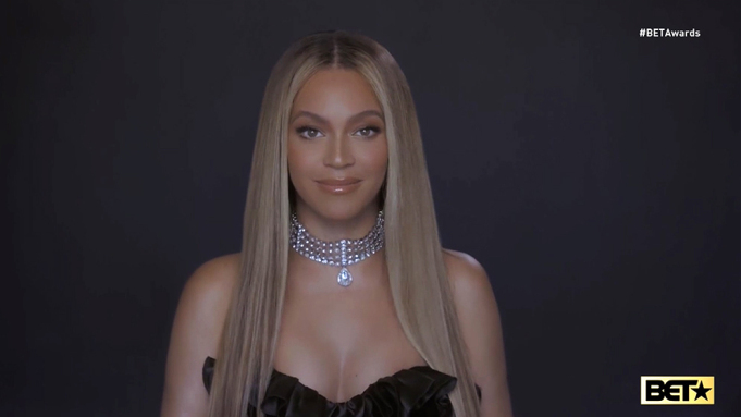 Beyonce uses BET accept speech to call for the dismantling of 'a racist and unequal system'