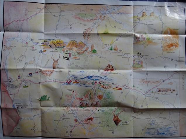 2048 8 dia Arizona Mapa