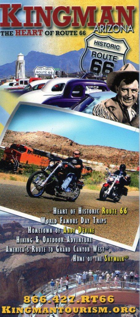 2118 8 dia Arizona Kingman (route 66)