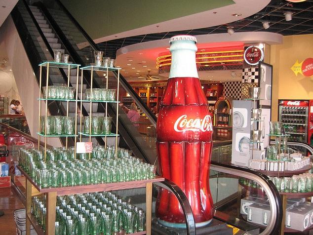 2645 9 dia Nevada Las Vegas Strip - Coca Cola Store