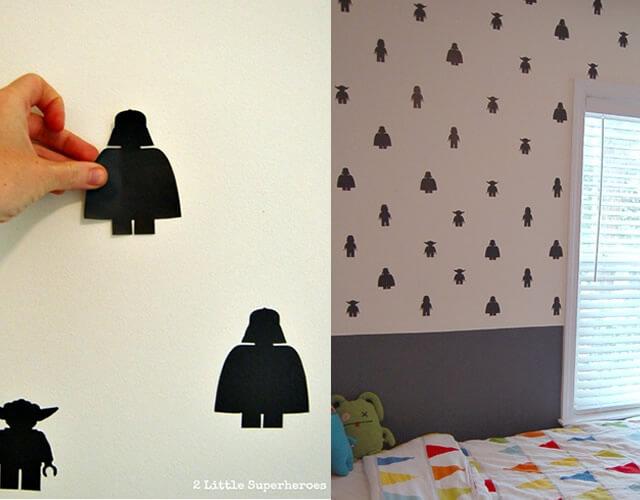 decoracao-star-wars-usando-papel-contact