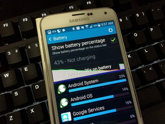 Como fazer a bateria do Samsung Galaxy S5 durar mais