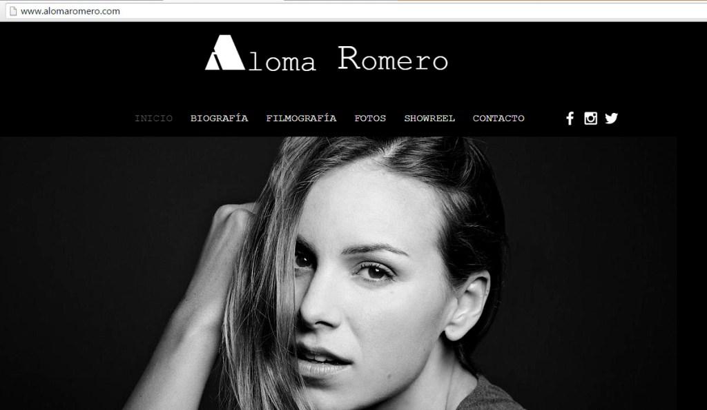 ¿Conoces la nueva web de ALOMA ROMERO?