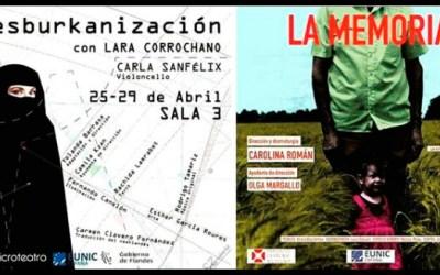 A partir de mañana, LARA CORROCHANO y CLARA ALONSO en Microteatro