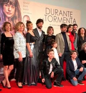 """MIMA RIERA espectacular ayer en el estreno de """"Durante la Tormenta"""""""