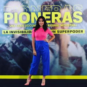 """ROCÍO PELÁEZ en """"Pioneras"""""""