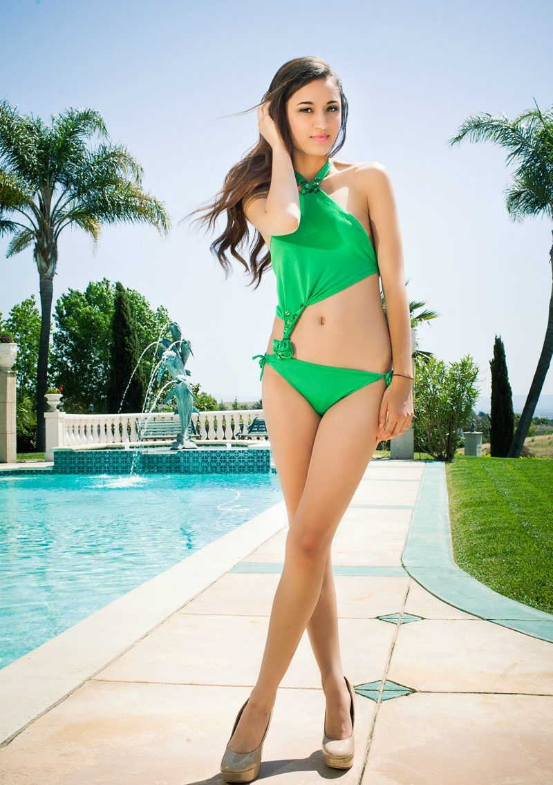 Modeling Swimwear
