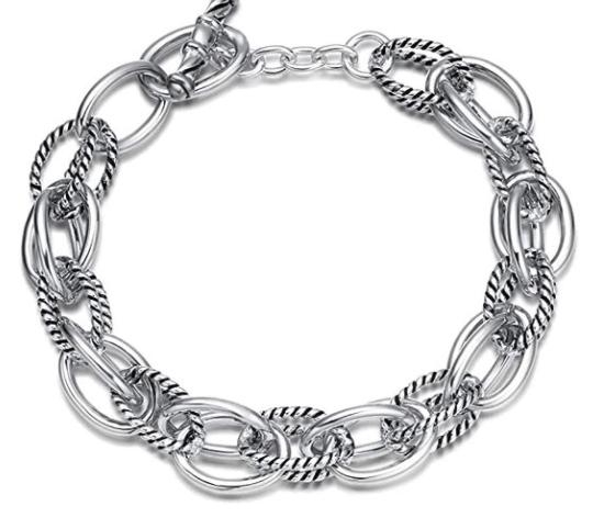 Best David Yurman Dupes Link Bracelet on Amazon