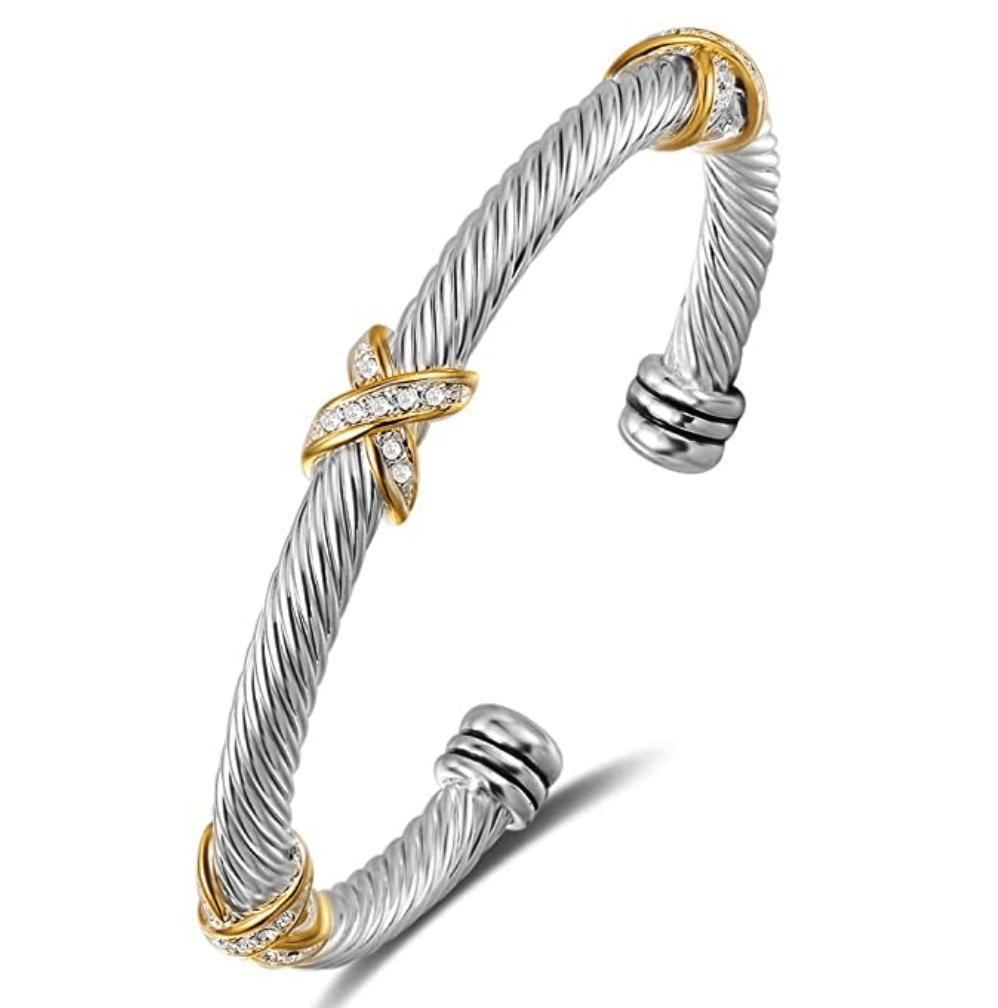 Best David Yurman Dupes Cable Bracelet on Amazon